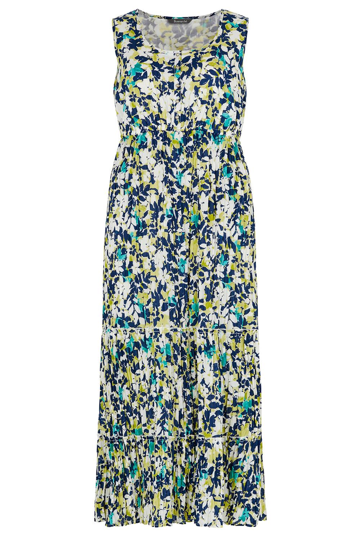 5772f93033 Floral Crinkle Cotton Maxi Dress